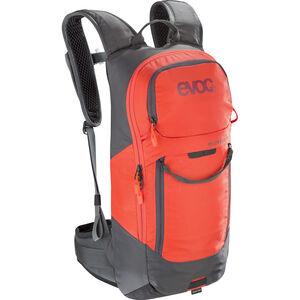 EVOC FR Lite Race Protector Backpack 10l carbon grey/orange carbon grey/orange