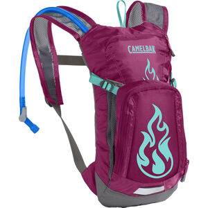 CamelBak Mini M.U.L.E. Hydration Pack 1,5L Kids baton rouge/ flames baton rouge/ flames