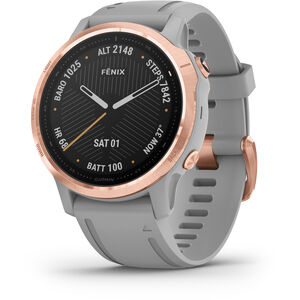 Garmin Fenix 6S Sapphire Multisport GPS Smartwatch grey/rose gold grey/rose gold