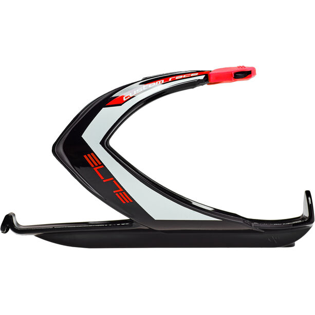Elite Custom Race Bottle Holder black/glossy red