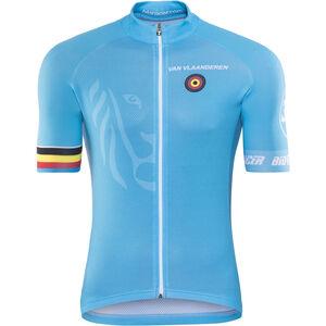Bioracer Van Vlaanderen Pro Race Jersey Herr blue blue