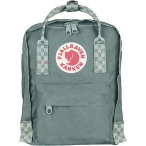 Fjällräven Kånken Mini Backpack Barn frost green/chess pattern frost green/chess pattern