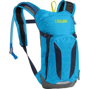 CamelBak Mini M.U.L.E. Hydration Pack 1,5L Kids atomic blue/navy blazer atomic blue/navy blazer