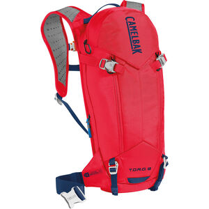CamelBak T.O.R.O. Protector 8 Hydration Pack dry racing red/pitch blue dry racing red/pitch blue