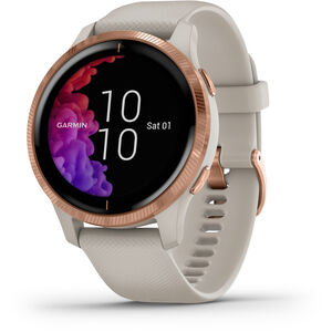 Garmin Venu Smartwatch beige/rose gold beige/rose gold