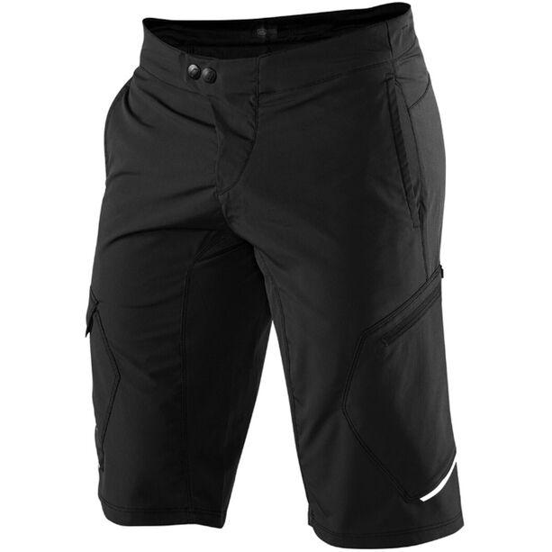 100% Ridecamp Shorts Herr black