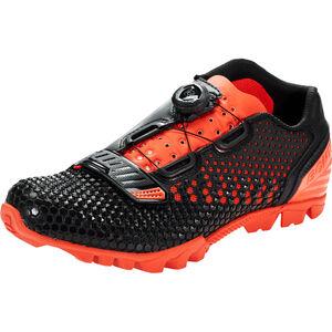 Bontrager Rhythm MTB Shoes Herr black/roarange black/roarange