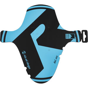 "Riesel Design kol:oss Front Mudguard 26-29"" Large blue blue"