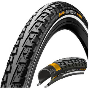 "Continental Ride Tour Tyre 28"" Draht Reflex black/black black/black"