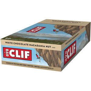 CLIF Bar Energy Bar Box 12x68g White Chocolate Macadamia Nut