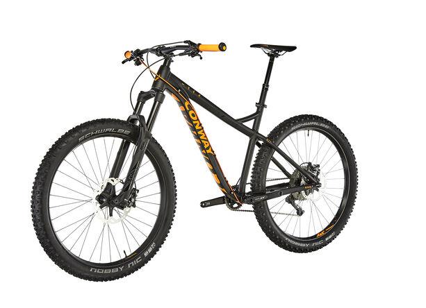 Conway MT 927 Plus Herr black matt/orange