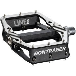 Bontrager Line Pro Pedals black/polished silver black/polished silver
