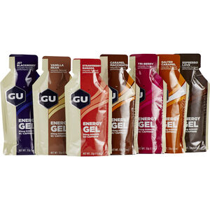 GU Energy Gel Test Package 7x32g Different Flavours
