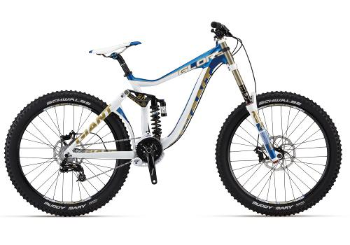 Mountainbike freeride downhill full suspension