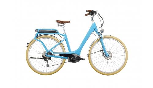 El-assisterad citycykel