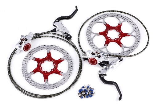 Skivbroms cykel